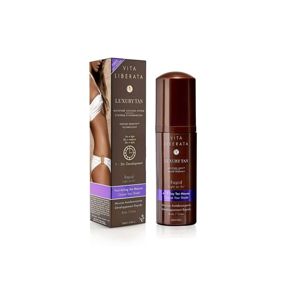 Rapid Self Tanning Tinted Mousse