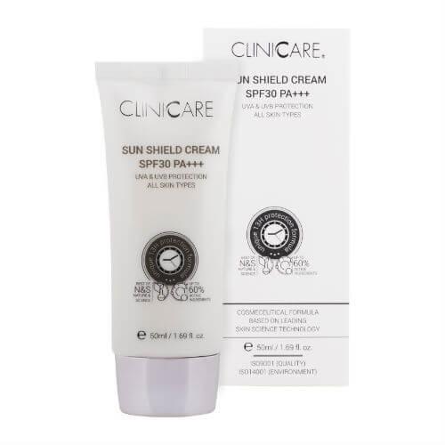Clinicare Sun Shield Cream SPF30
