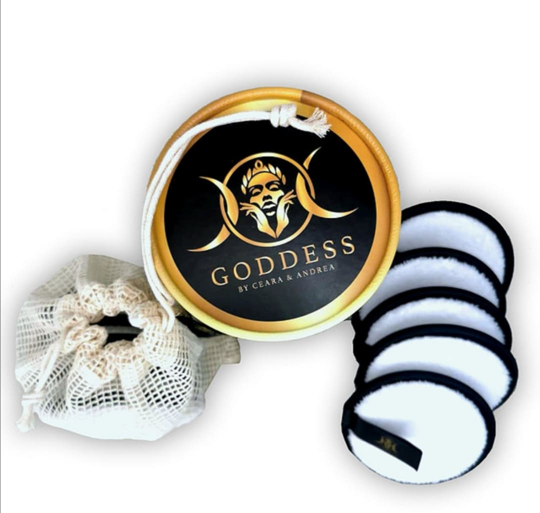 Goddess Reusable Cotton Discs 5pk