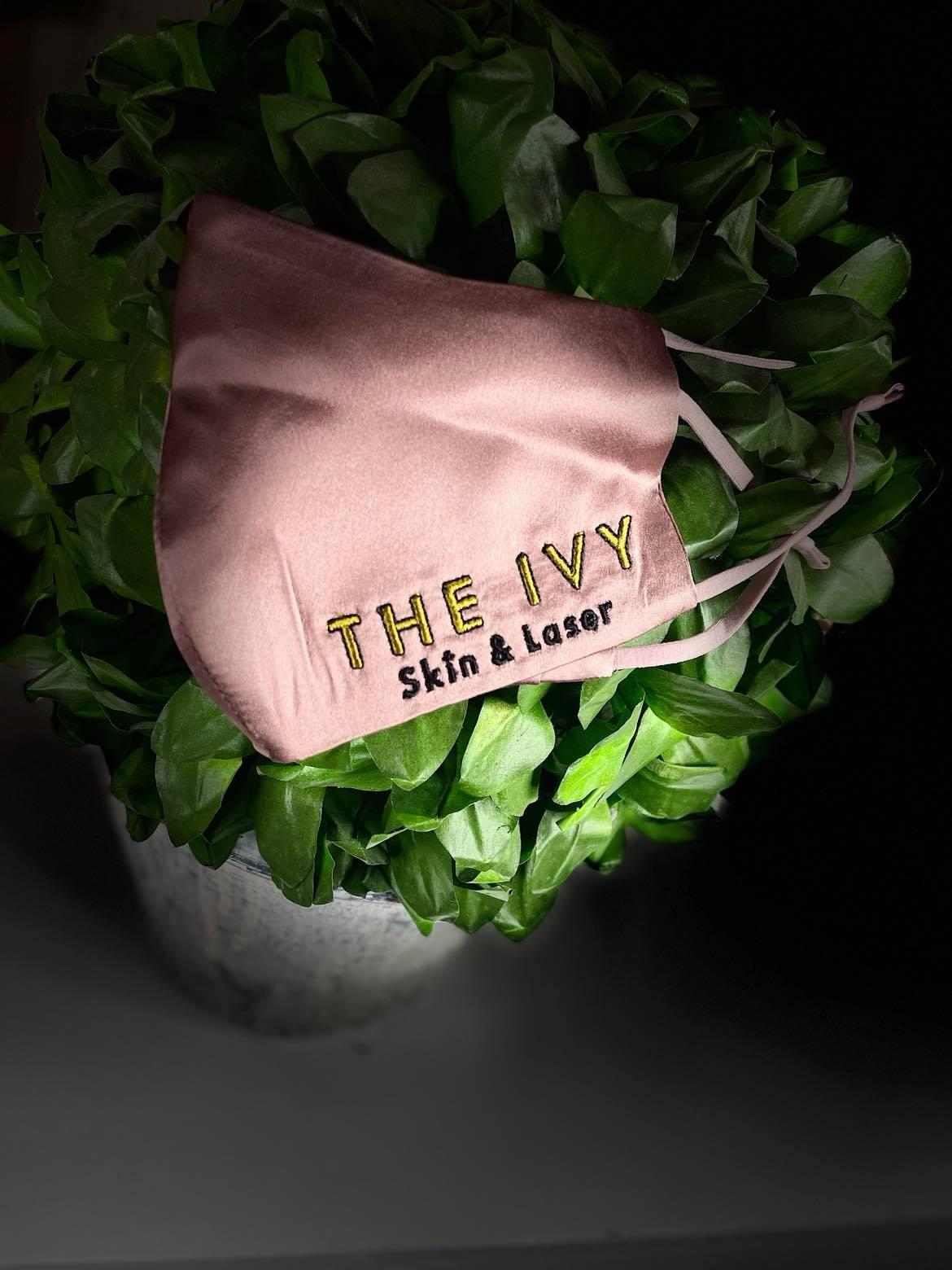 The Ivy Signature Silk Face Masks